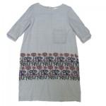 minaperhonenミナペルホネン刺繍ワンピース