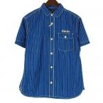 CALEE 丸襟ワークシャツ