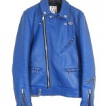 Lewis leathers サイクロンタイトフィットライダースジャケット ブルー